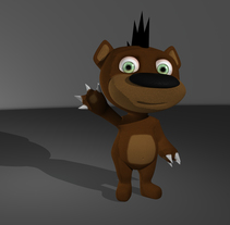 Punk Bear. A 3D, Animation, and Game Design project by Pietrangelo Manzo         - 04.03.2014