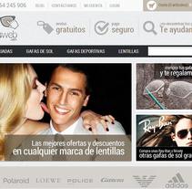 Gafasweb.com. A Web Development project by Alex Peris         - 30.06.2013