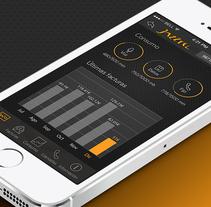 Diseño App de Jazztel. Um projeto de UI / UX, Design interativo e Web design de Leopoldo Tabares de Nava Sieper         - 09.03.2014