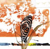 Postales en tránsito [Libro-artista autoeditado]. Un proyecto de Ilustración, Comisariado, Diseño editorial, Bellas Artes y Escritura de Pilar  Barrios Varela - 05-03-2011