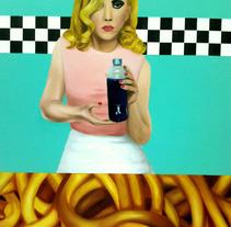 grandes formatos/comida o no. A Fine Art, and Painting project by Judith Cebrián de Pedro         - 10.03.2012