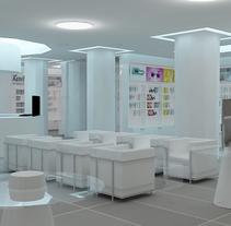 Perfumería Argel. Un proyecto de 3D, Arquitectura interior y Diseño de interiores de Aitor Hernández Gómez - 12-03-2014