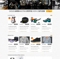 Desarrollo Ecommerce - OAKLEY . A Design, Web Design, and Web Development project by Luis Miguel Pittol Mendoza         - 15.03.2014