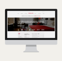 Fierro Hotel. A Graphic Design, and Web Design project by Victoria Rodríguez         - 16.03.2014