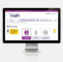 Eugin Prediagnóstico. A UI / UX, and Web Design project by Cristina Fabregas Escurriola         - 17.03.2014