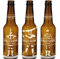 Cerveza Kaweskar. A Br, ing, Identit, Graphic Design, and Packaging project by insemar         - 17.03.2014