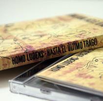 Segundo Disco Homo Ludens. A Illustration, Graphic Design, and Writing project by Elvira Soriano Chamorro         - 14.01.2011