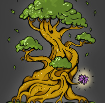 Magic tree. A Illustration project by Jaume Turon Auladell - 23-03-2014