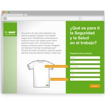 Microsite BASF Día de la Seguridad . A Web Design project by Zahira Rodríguez Mediavilla         - 12.04.2013
