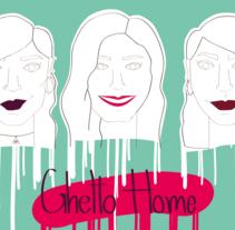 Ilustracion retratos. Un proyecto de Ilustración de Claudia Aguado Vaquero         - 01.04.2014