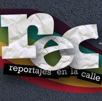 rec - reportajes en la calle. Un proyecto de Diseño Web y Desarrollo Web de Carme Carrillo Cubero         - 05.06.2009