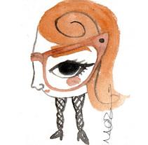 LAS GAFAS. A Illustration project by Marta Zabala         - 15.02.2014