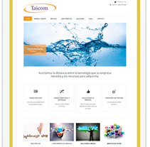 Taicom. Un proyecto de Desarrollo Web de Cristina  Álvarez  - 08-09-2013