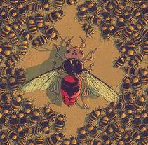 Insectos en guerra. A Illustration project by Juan Esteban Rodríguez         - 13.04.2014