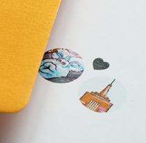 Tarjeta de Boda. Un proyecto de Ilustración de Marco Antonio Paraja Corbato         - 07.04.2014