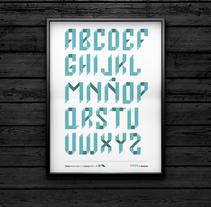 PAPER • tipografía modular. Un proyecto de Diseño editorial, Diseño gráfico y Tipografía de Marova  - 16-04-2014