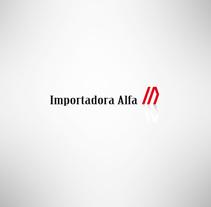 Importadora Alfa. Un proyecto de Diseño gráfico de gabriel sampedro - Martes, 22 de abril de 2014 00:00:00 +0200