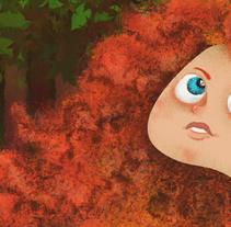Princess Merida. Um projeto de Design, Ilustração e Design de personagens de Victor  Nariño         - 23.04.2014