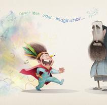 Nunca pierdas la imaginación.... A Illustration, Animation, and Character Design project by alicia borges         - 23.04.2014