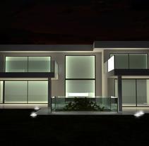 Vivienda Unifamiliar Madrid. Un proyecto de 3D y Arquitectura de Aitor Hernández Gómez         - 28.04.2014