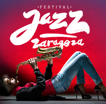 Festival de Jazz de Zaragoza 2013. A Br, ing, Identit, Art Direction, and Graphic Design project by LOCAL  ESTUDIO  - Apr 30 2014 12:00 AM