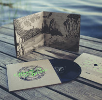 Mundo Aparte LP. A Graphic Design, Packaging, and Screen-printing project by Jordi Matosas         - 29.04.2014
