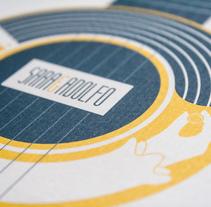 Invitaciones de boda en singles de vinilo. Un proyecto de Dirección de arte y Diseño gráfico de Chema Castaño - 30-04-2014