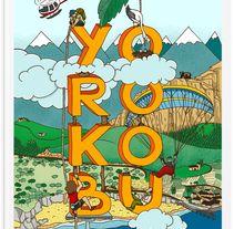 Be Yorokobu. A Design&Illustration project by el abrelatas  - Jan 05 2014 12:00 AM