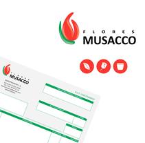 Flores Musacco. Un proyecto de Br, ing e Identidad y Diseño gráfico de Gimena Cabrera - 07-05-2014