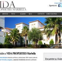 Vida Properties Marbella. Un proyecto de Desarrollo Web de Antonio M. López López - 10-05-2014