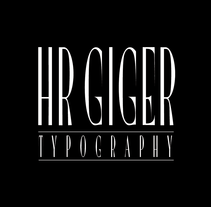HR GIGER type (free font). A Design, T, and pograph project by JuanJo Rivas - 13-05-2014