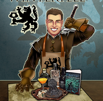 Jorge Serrano: Cocktail Winterfell. A Illustration, Advertising, and Marketing project by Arturo Mata - May 15 2014 12:00 AM