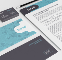 Identidad Corporativa. Un proyecto de Dirección de arte, Br e ing e Identidad de Juan Manuel Falabella - 22-05-2014