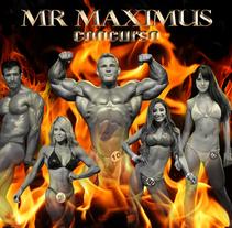 Mr Maximus Gym. Un proyecto de Diseño editorial y Diseño gráfico de Alejandra  Dorantes Reséndiz         - 26.05.2014