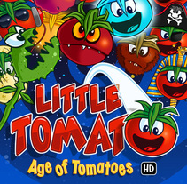 Little Tomato, Age of Tomatoes, Android and iOS game. A Art Direction, Design, and Game Design project by Andrés  - May 30 2014 12:00 AM