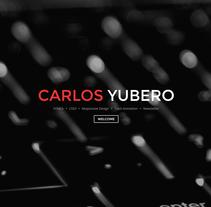 http://www.carlosyubero.com. A Design, Film, Video, TV, Graphic Design, Web Design, and Web Development project by Carlos Yubero García         - 01.06.2014
