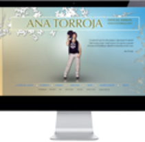 Ana torroja. A Design, and Web Development project by Jaime Sanchez - Jun 06 2014 12:00 AM