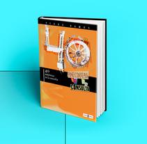 Book cover layout. 40 anécdotas en la consulta. Um projeto de Design, Ilustração, Direção de arte, Design editorial, Design gráfico e Tipografia de Carlos Parra Ruiz - 05-06-2014