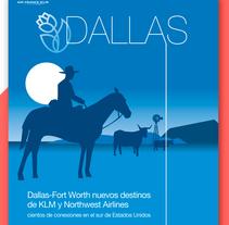 KLM airlines . Um projeto de Design, Direção de arte, Br, ing e Identidade, Consultoria criativa, Artes plásticas e Design gráfico de Carlos Parra Ruiz - 05-06-2014