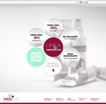 Web Podoline. A Graphic Design, Packaging, and Web Development project by circularsquare - 08-06-2014