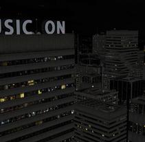 Promo para  Moroder Soundclub . A Motion Graphics, 3D, and Animation project by Javier De La Parra Pérez - 15-06-2014