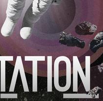Lunar Station. Un proyecto de Diseño gráfico de sergi nadal  - 18-06-2014