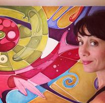 Ojo de Horus. Un proyecto de Ilustración, Artesanía y Bellas Artes de Carolina Motta - 19-06-2014
