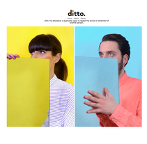 ditto.. A Photograph, and Art Direction project by María Carmona Díaz         - 26.06.2014