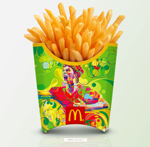 MC´DONALDS WORLDCUP 2014. A Illustration, Advertising, and Packaging project by MARTIN  SATI - 29-06-2014