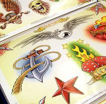 """Diseños para revista """"IDEA TATTOO"""". Un proyecto de Ilustración de Jonas Jorna - Miércoles, 02 de julio de 2014 00:00:00 +0200"""
