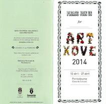 ArtXove 2014-Cartelería. Um projeto de Publicidade, Artes plásticas e Design gráfico de Leticia Gómez Aguado         - 01.07.2014