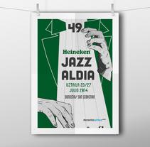 Concurso Jazz al Día. A Illustration, Advertising, Art Direction, and Graphic Design project by Patricia Muñoz Rodríguez         - 03.07.2014