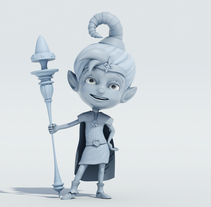 ELF. A 3D, and Character Design project by Salvador  López Jurado - 08-07-2014