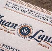 Laura & Juan. A Design project by Printing Studio         - 14.07.2014